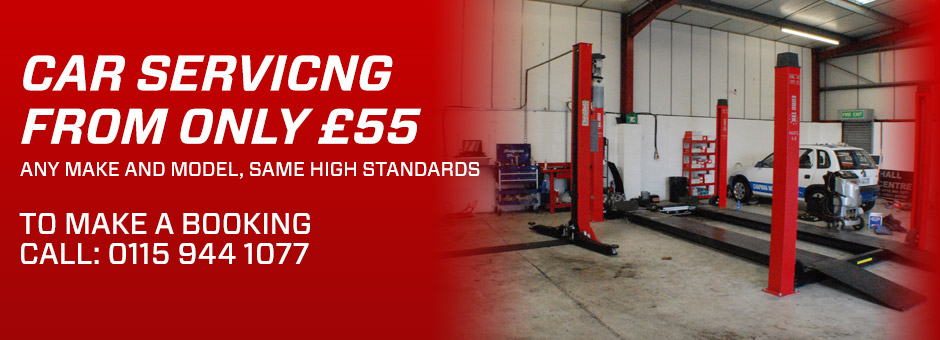 Car Servicing from only £55