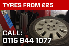 New Tyres from £25